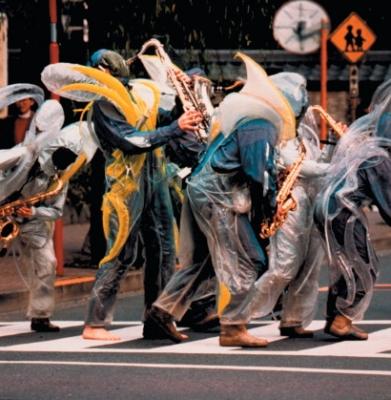 Urban Sax à Tokyo